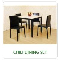 CHILI DINING SET